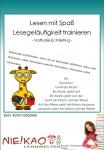 Lesen mit Spaß – Lesegeläufigkeit trainieren download