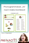 "Phonogrammdose ""nk"" nach Maria Montessori"