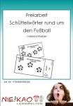 Freiarbeit - Schüttelwörter rund um den Fußball