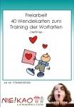 Freiarbeit - 40 Wendekarten zum Training der Wortarten