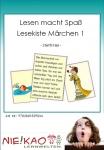 Lesen macht Spaß - Lesekiste Märchen 1