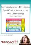 Schnabelwetzer - Ein Niekao Spiel für das Aussprache- und Lesetraining