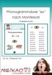 "Phonogrammdose ""au"" nach Montessori"