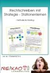 Rechtschreiben mit Strategie - Stationenlernen