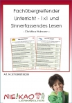 Fachübergreifender Unterricht - 1x1 und Sinnerfassendes Lesen Einzel-CD