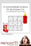 15 Adventsbilder-Sudokus für die Klassen 2-4