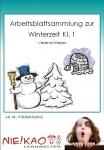 Arbeitsblattsammlung zur Winterzeit Kl. 1 Einzel-CD
