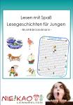 Lesen mit Spaß - Lesegeschichten für Jungen Einzel-CD