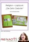 "Religion – Lapbook ""Die Zehn Gebote"""