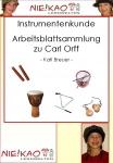 Musikwerkstatt - Orff - Instrumente Einzel-CD