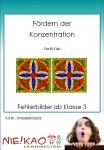 Fördern der Konzentration - Fehlerbilder Kl.3