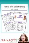 Kartei zum Lesetraining