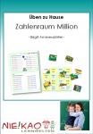 Üben zu Hause - Zahlenraum Million