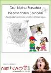 Drei kleine Forscher beobachten Spinnen download