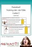 Freiarbeit - Training der vier Fälle - Kartei 2