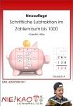 Mathematik - Schriftliche Subtraktion im ZR bis 1000