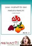 Lesemalheft für den Herbstunterricht Einzel-CD