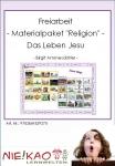 """Freiarbeit - Materialpaket """"Religion"""" - Das Leben Jesu Einzel-CD"""