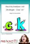 """Rechtschreiben mit Strategie - Das """"ck"""""""