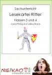 Sachunterricht - Lesekartei Ritter Klasse 3 und 4