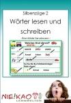 Silbenzug 2 - Wörter lesen und schreiben