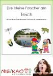 Drei kleine Forscher am Teich download