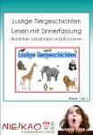 Lustige Tiergeschichten - Lesen mit Sinnerfassung