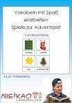 Vokabeln mit Spaß erarbeiten - Spiele zur Adventszeit