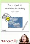 Sachunterricht - Wetterbeobachtung download