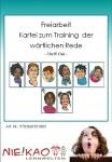 Freiarbeit - Kartei zum Training der wörtlichen Rede