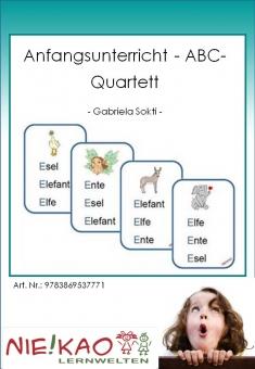 Anfangsunterricht - ABC-Quartett
