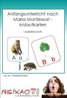 Anfangsunterricht nach Maria Montessori - Anlautkarten