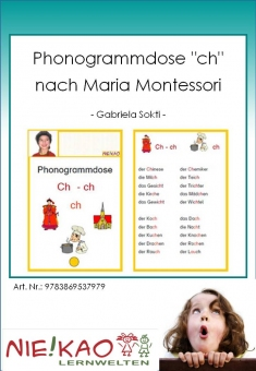 "Phonogrammdose ""ch"" nach Maria Montessori"