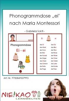 """Phonogrammdose """"ei"""" nach Maria Montessori"""