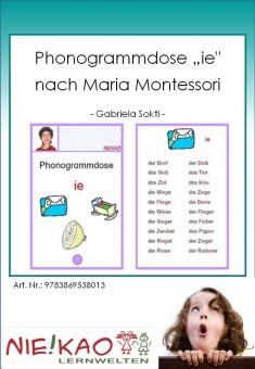 "Phonogrammdose ""ie"" nach Maria Montessori"
