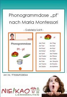 "Phonogrammdose ""pf"" nach Maria Montessori"