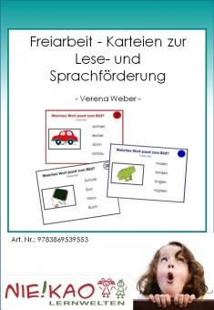 Freiarbeit - Karteien zur Lese- und Sprachförderung Einzel-CD