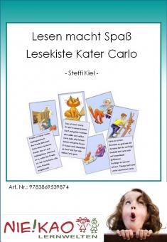 Lesen macht Spaß - Lesekiste Kater Carlo