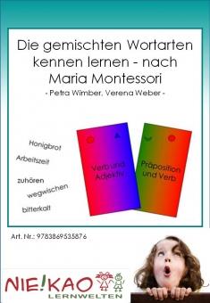 Die gemischten Wortarten kennen lernen - nach Maria Montessori