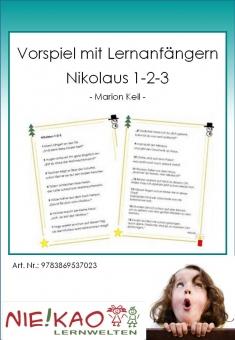 Vorspiel mit Lernanfängern - Nikolaus 1-2-3