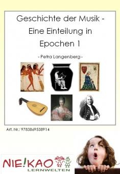Geschichte der Musik - Eine Einteilung in Epochen 1