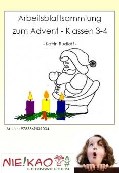 Arbeitsblattsammlung zum Advent - Klassen 3-4