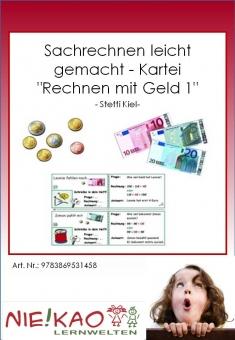 """Sachrechnen leicht gemacht - Kartei """"Rechnen mit Geld 1"""" Einzel-CD"""