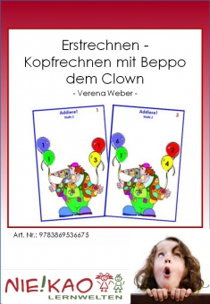 Erstrechnen - Kopfrechnen mit Beppo dem Clown