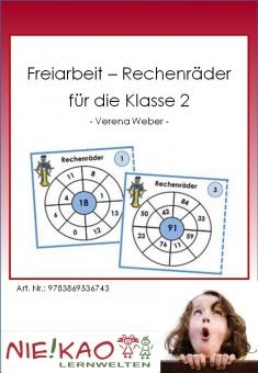 Freiarbeit - Rechenräder für die Klasse 2 Einzel-CD