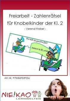Freiarbeit - Zahlenrätsel für Knobelkinder der Kl. 2 Einzel-CD