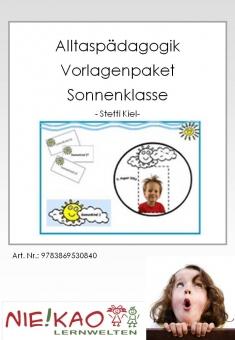 """Alltagspädagogik - Vorlagenpaket """"Sonnenklasse"""""""