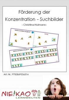 Förderung der Konzentration - Suchbilder