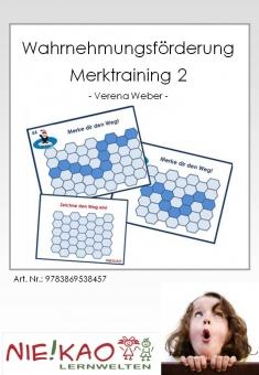 Wahrnehmungsförderung - Merktraining 2