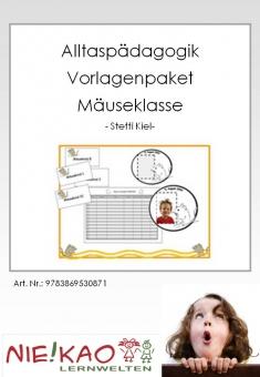 """Alltagspädagogik - Vorlagenpaket """"Mäuseklasse"""""""